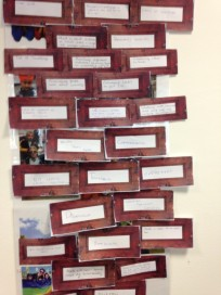 The brick wall- Some of ideas of barriers to participation