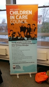 CiCC standing banner