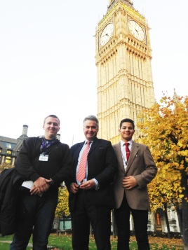 With MP for East Worthing & Shoreham Tim Loughton, who gave us an interesting tour of Parliament!