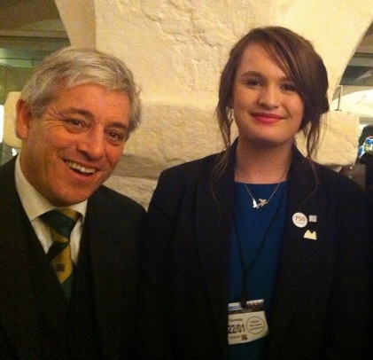 Kelly and John Bercow