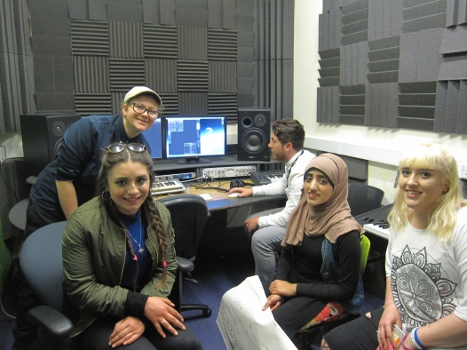 Group in Studio