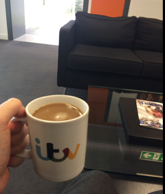 ITV mug
