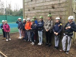Waiting for the Climbing Wall