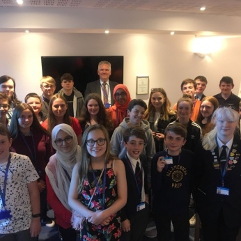 Mark Jenner visits the Youth Cabinet