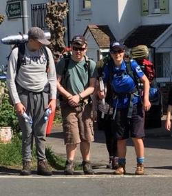 Karla Smith on DofE Expedition