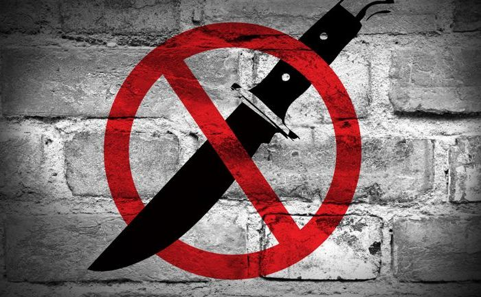 Stop knife crime
